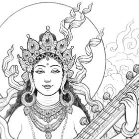 saraswati-illustration